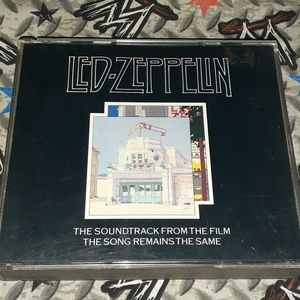 80s Led Zeppelin The Song Remains The Same Vintage